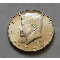 1/2 доллара США 1964 г., AU