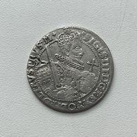 Монета Орт 1/4 талера 1622 г. Польша Сигизмунд lll РЕДКИЙ Отличный