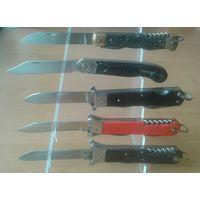Подставка для  5 складных ножей (оргстекло).Нож.