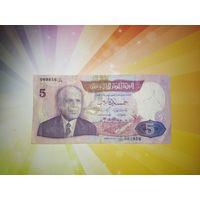 Тунис 5 динар 1983г