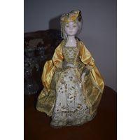 Кукла восковая, Франция винтаж Pascaline
