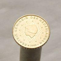Нидерланды 50 евроцентов 2002 (1-ый тип)