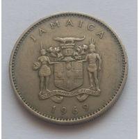 Ямайка, 10 центов, 1969 года.