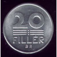20 филлер 1981 год Венгрия