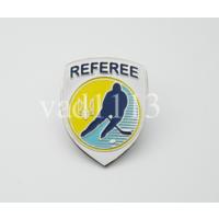 Официальный значок федерации хоккея Украины - судейский (1вид)