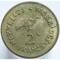 Новые Гебриды 2 франка 1973 (а)