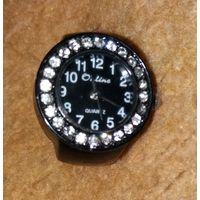 """Часы женские перстень """"OnLine Quartze"""" со стразами подарочные"""