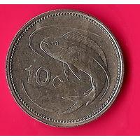 31-24 Мальта, 10 центов 1991 г.