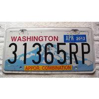 """Номер авто  Вашингтон 2012г. США. """"31365""""  распродажа"""