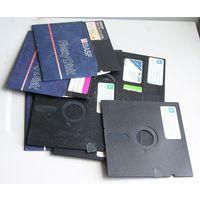 """Ретро дискеты 5,25"""" 10 шт. цена за все"""