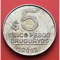 121-16 Уругвай, 5 песо 2003 г.