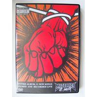 "Metallica  DVD  ""St. Anger"" 2003"