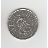 5 крон Швеция 1982 Лот 3519