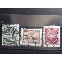 1925 Восстание декабристов Михель-15,0 евро гаш. полная серия