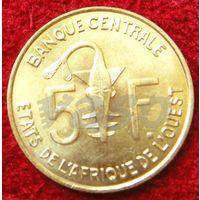 7754:  5 франков 2008 Западная Африка