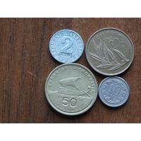 Четыре монеты за 0.99 копеек 10
