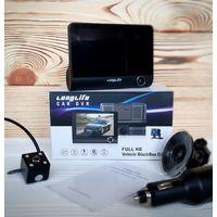 Видеорегистратор Longlife Dual Cam (3 камеры) 4''