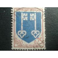 Франция 1966 герб г. Монт де Марсан