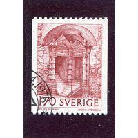 Швеция. Европа СЕРТ 1978. Древние сооружения