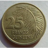 Гвинея 25 франков 1987 г