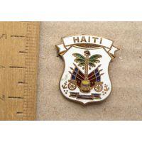 Значок Гаити HAITI