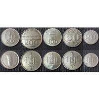 Монголия набор 5 монет 1994