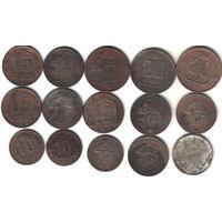 Монеты советы 15шт