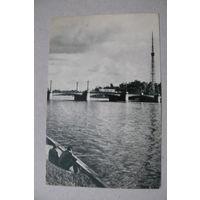 Скороспехов А., Ленинград. Ушаковский мост; 1968, чистая (удочка, рыбалка).