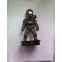 Марвел: Воитель (Военная машина броня Марк IV - War Machine Mark IV Cup Topper). Мстители: Финал (Marvel Avengers Endgame). 2019 (Железный Человек, Iron Man; Железный патриот, Iron Patriot, Warrior)