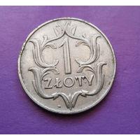 1 злотый 1929 Польша #05