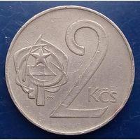 2 кроны 1973 Чехословакия КМ# 75 медно-никелевый сплав