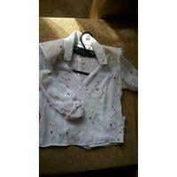 Блузка с запахом р.44-46