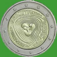 2 Евро Литва 2019  Литовские Народные песни UNC из ролла