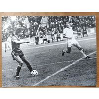 Фото Сергея Алейникова. Чемпионат мира по футболу. 1986 г.  Мексика.  17х23 см