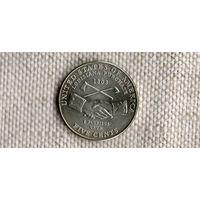 США 5 центов 2004 Руки //(Ок)