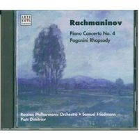 CD Sergei RACHMANINOV, Piotr Dimitriev (piano), Russian Philharmonic Orchestra, Samuel Friedmann (conductor) -