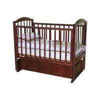 """Детская эргономичная кроватка """"Элина""""  из массива с качанием !"""