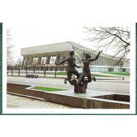 БЕЛАРУСЬ 1998 г. открытка  Минск  Дворец  спорта