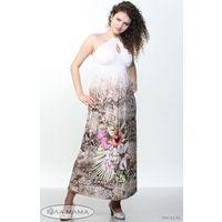 "Длинный сарафан для беременных ""Юла Мама"", размер S"