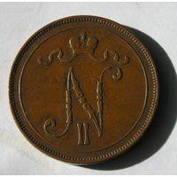 Русс. Финляндия 10 Пенни 1905 (1)