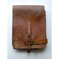Офицерская сумка из натуральной кожи образца 1948 г.