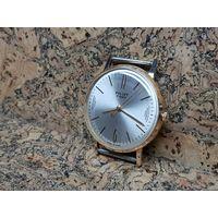 Часы Poljot,позолота au20,редкие в люксе.Старт с рубля.