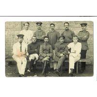 Фото пленных немцев, ПМВ