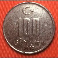 28-15 Турция, 100000 лир 2002 г.