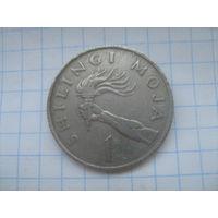 Танзания 1 шиллинг 1983г.km4