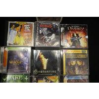 Игры компьютерные разные на CD дисках