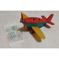 Игрушка СССР Самолетик
