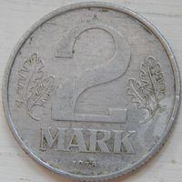 ГДР 2 марки 1978 год.