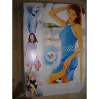 Альбом с фото из отпуска красивой девушки 18 листов 9х15