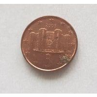 1 евроцент 2005 Италия